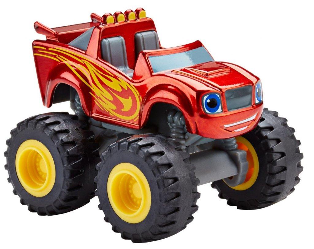 Blaze Blaze Metallic Blaze Och Monstermaskinerna