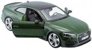 Audi RS 5 metallic green modellbil
