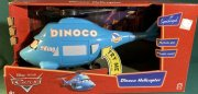 Dinoco Helicopter 35 cm with Pop-out Mater