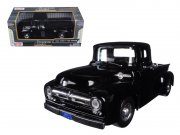 Ford F-100 Pick Up, black, 1956 modellbil