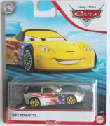 Jeff Gorvette silver disney cars