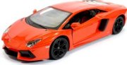 Lamborghini Aventador orange Plastic with sound 1:24