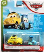 Luigi, Guido raceteam disney cars