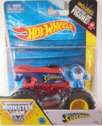Hot Wheels Monster Jam - Superman fig