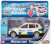 Police car light & Sound 12 cm