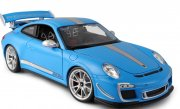 Porsche 911 GT3 RS 4.0 Blue scale 1:18