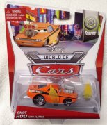 Snot Rod med flammor - Disney Cars / Bilar