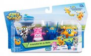 Super Wings 4-pack 5cm