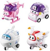 Dizzy police, Astra, Astro, Zoey Super Wings