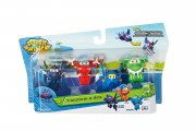 Super Wings Flip, Jerome, Mira, Agent Chase