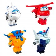 Super Wings Jett, Paul, Astra, Donnie