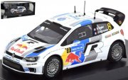 VW Polo WRC no 8 Ogier 2013 Modellbil