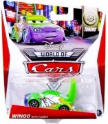 Wingo with flames (see picture 2), disneyn autot / disney cars