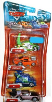 4-pack Boost, DJ, Snot Rod, Wingo
