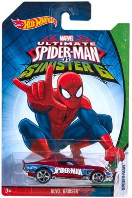 Hot Wheels Spiderman - Blvd Brusier