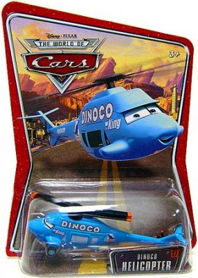 Dinoco Helicopter - serie 3 WoC