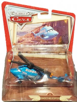 Dinoco Helicopter Oversized - serie 3