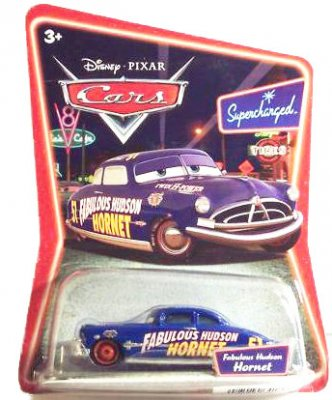 Doc Hudson with red wheels
