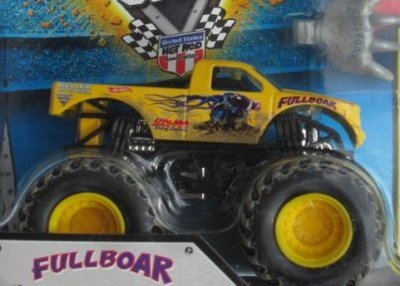 Hot Wheels Monster Jam - Fullboar, ny men utan förpackning