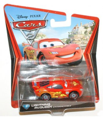Blixten McQueen - Cars 2 Racing wheels