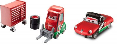 Francesco Bernoulli depå chef & depå truck - Cars 2