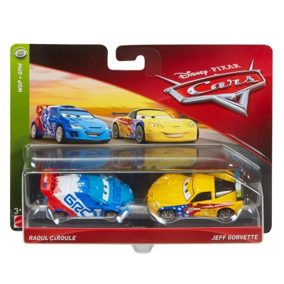 Raoul Caroule, Jeff disney cars