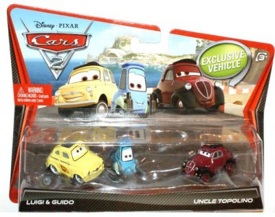 Luigi & Guido & Uncle Topolino  - Cars 2