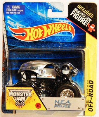 Hot Wheels Monster Jam - Nea Police(utan förpackning)