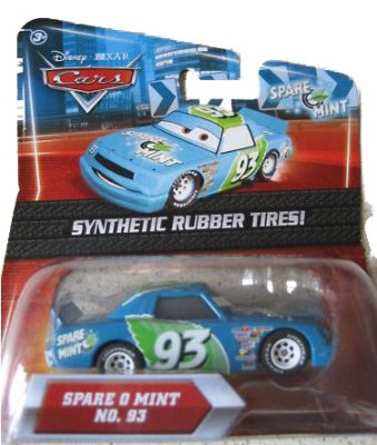 Spare O Mint  nr 93  - Rubber Tires