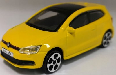 VW Polo modellbil