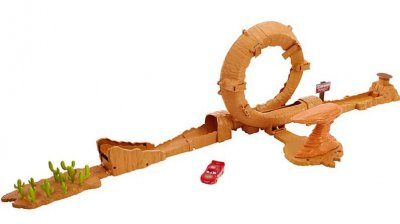 Playset Willys Butte Jump set Cars
