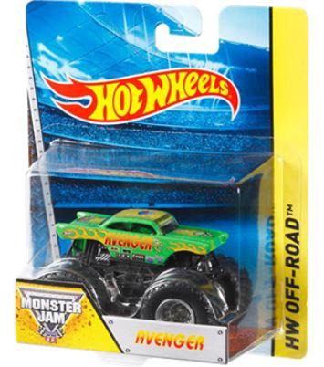 hot wheels monster jam avenger monster trucks hot. Black Bedroom Furniture Sets. Home Design Ideas