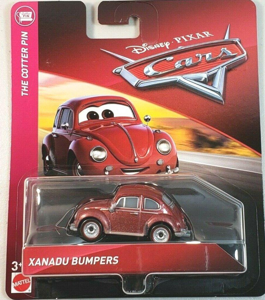 CARS 3 Mattel Disney Pixar XANADU BUMPERS